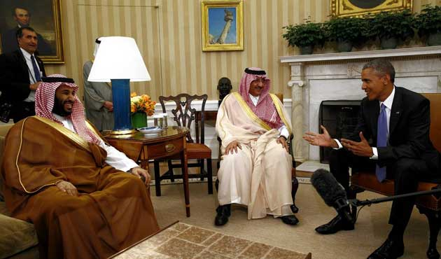 Obama Körfez temsilcileriyle yemekte buluştu
