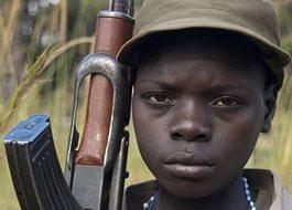 Orta Afrika'da 357 çocuk askeri kurtarıldı