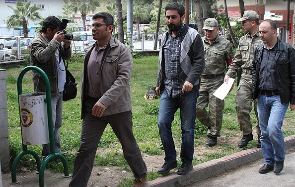 Gözaltındaki askerlerin ifade işlemi başladı