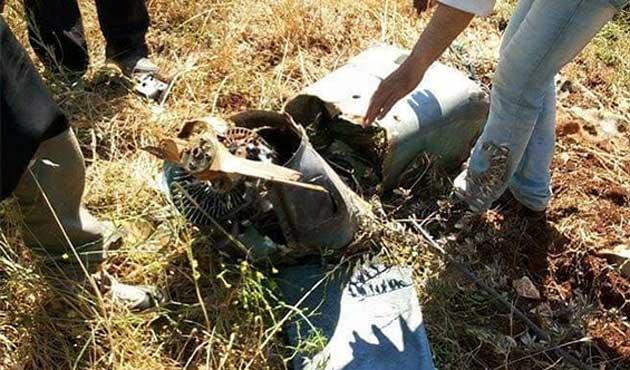 Türkiye'nin  düşürdüğü araç İHA çıktı