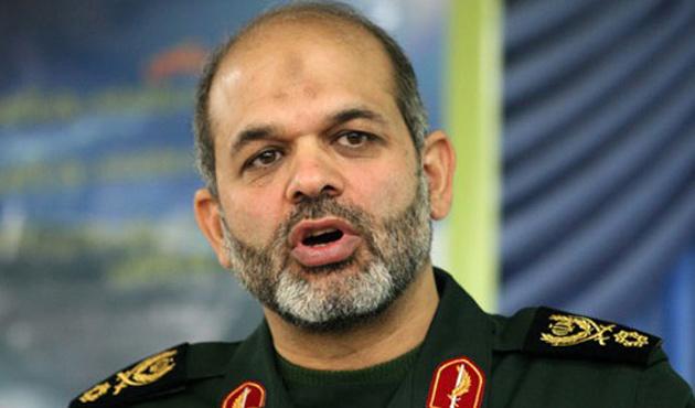 İran Savunma Bakanı Dehkan Irak'ta