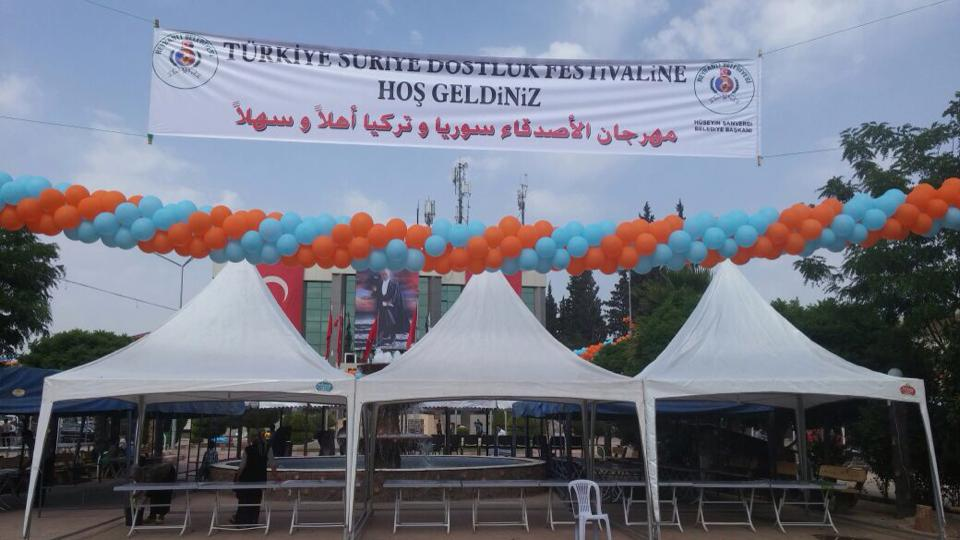 Hatay'da Suriye dostluk festivali