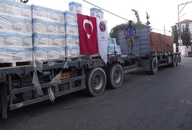 Türkiye Gazze'ye verdiği sözleri tutuyor