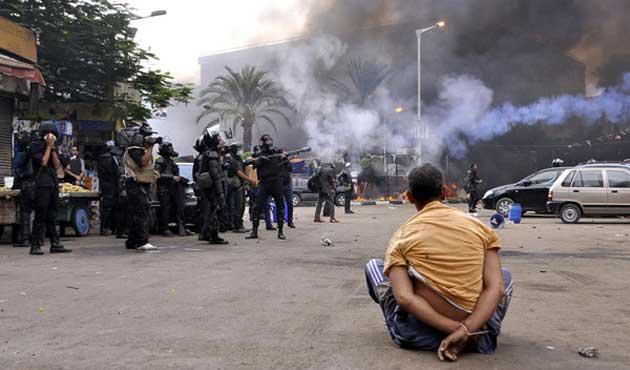 Mısır'da darbeden sonraki ölü sayısı 2600
