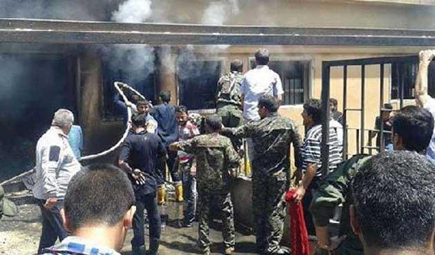 Suriye'de sağlık merkezinde patlama: 25 ölü