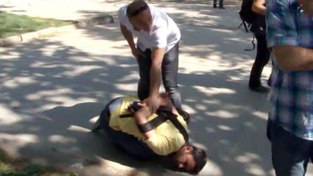 'Gazeteciye darp ve gözaltı'ya tepki