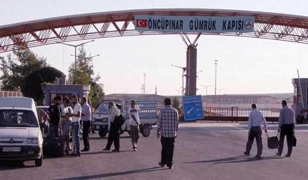 Öncüpınar Sınır Kapısı geçici olarak kapatıldı