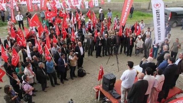 Vatan Partisi 1. sıra adayı HDP'ye katıldı