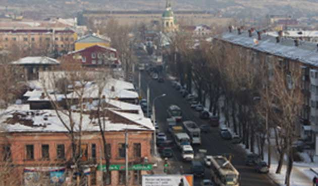 Sibirya'da 'ABD'ye bağlanma' mitingi
