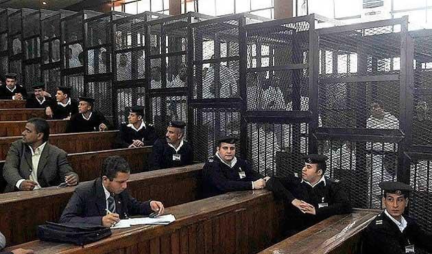 Mısır'da 216 sivil askeri mahkemeye sevk edildi