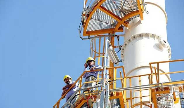 İran büyük şirketlerle doğalgazı görüştü