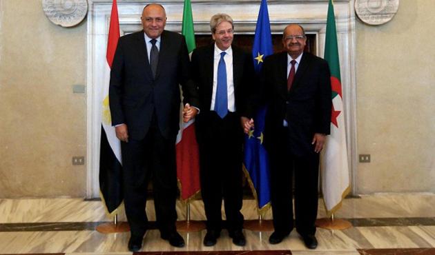Kahire'de üçlü 'Libya' zirvesi