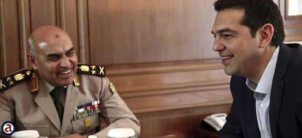 Mısır Savunma Bakanı Yunanistan'da