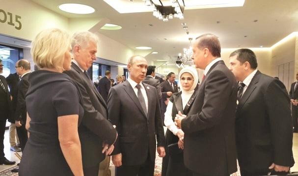 Erdoğan ve Putin çarşamba günü görüşecek