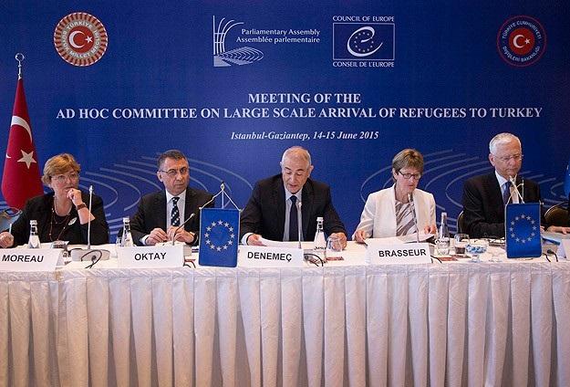 Avrupalı milletvekilleri sığınmacılar için Türkiye'de