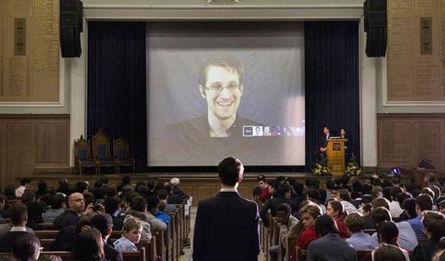 Snowden'dan gazetecilere 'güvenli cep telefonu'