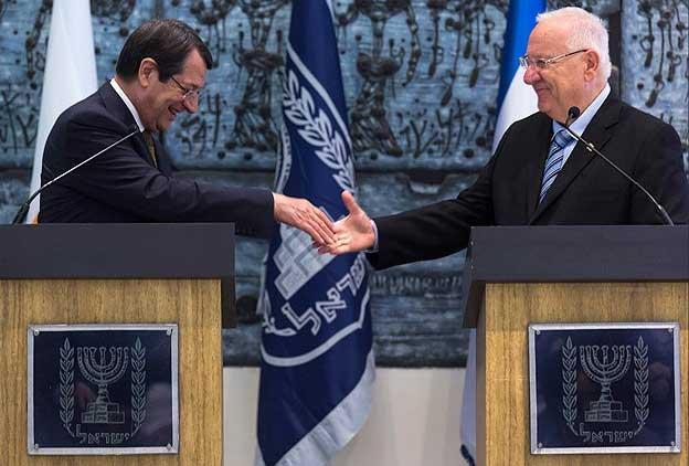 Kıbrıs Rum kesimi İsrail'le Stratejik Ortaklık yolunda