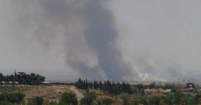 Kilis sınırında IŞİD ve muhalifler çatışıyor