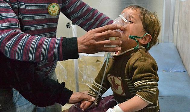Esad rejiminden 136 kez 'kimyasal' ihlali