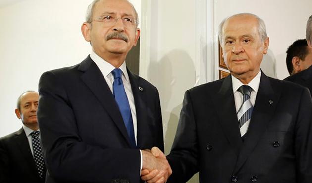 Kılıçdaroğlu'nun başbakanlık teklifine MHP'den ret