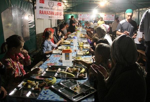 Ramazanda Kırım'daki Müslümanlar unutulmadı