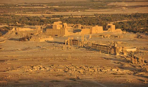 Suriye Ordusu Palmira'ya girdi