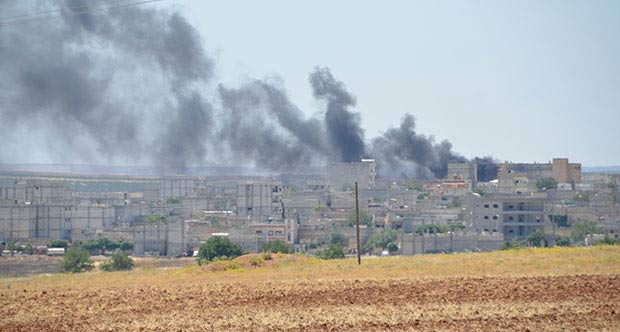 Kobani'de ikinci patlama