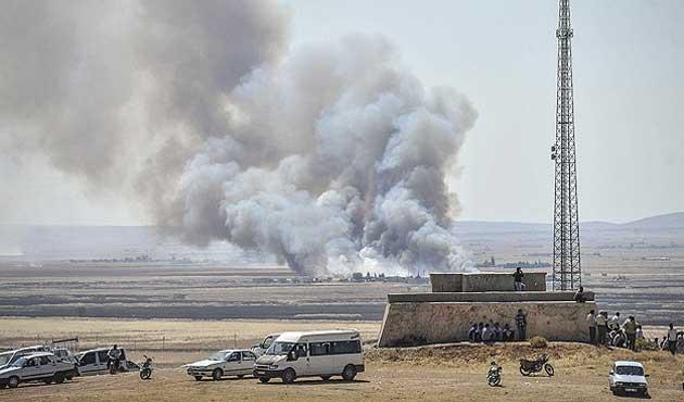 Hâlâ silah sesleri gelen Kobani'de bilanço da büyüyor