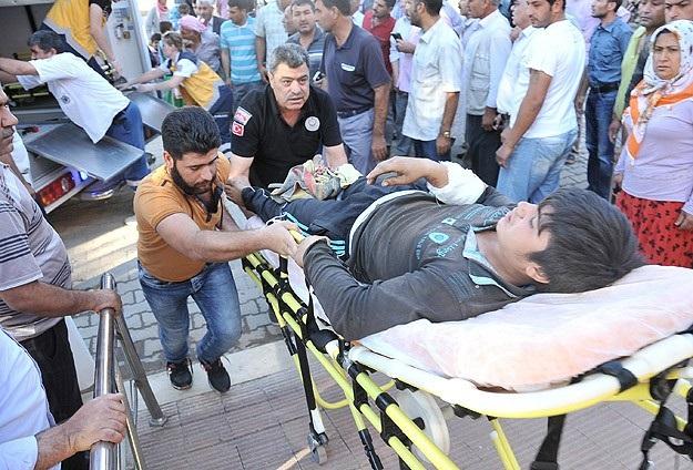 Yaralı 134 kişi Türkiye'de tedavi ediliyor