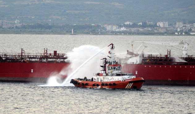 Ç.Kale Boğazı'nda gemi kazası