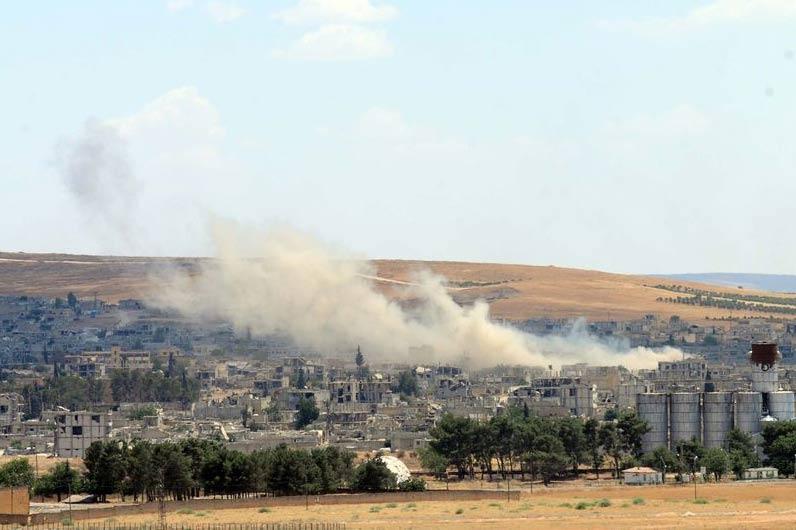 IŞİD Kobani'den tamamen çıkarıldı