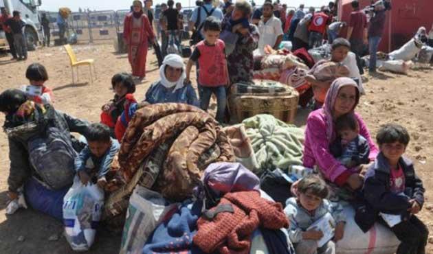 Türkiye'den Kobani'ye 5 ayda bin 920 TIR yardım