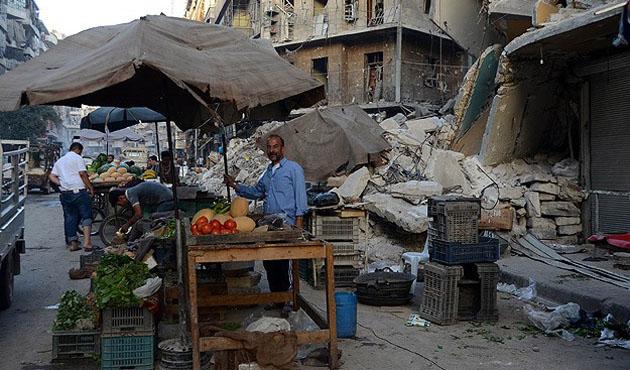 Halep'te her şeye rağmen Ramazan canlılığı