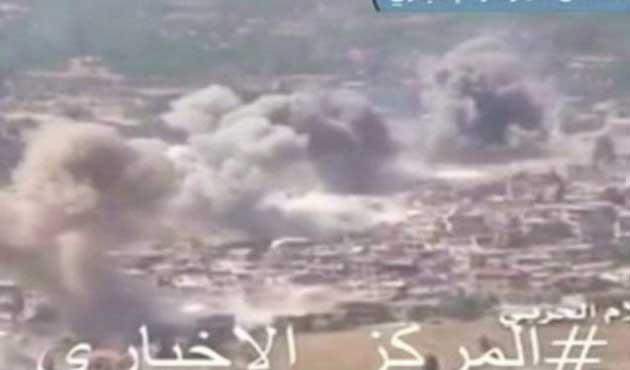 Suriye ordusu Lübnan sınırındaki şehre operasyon başlattı