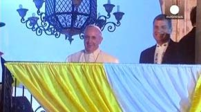 Papa Francis Güney Amerika turunda