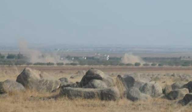 TSK Suriye'deki hedefleri vurmaya başladı