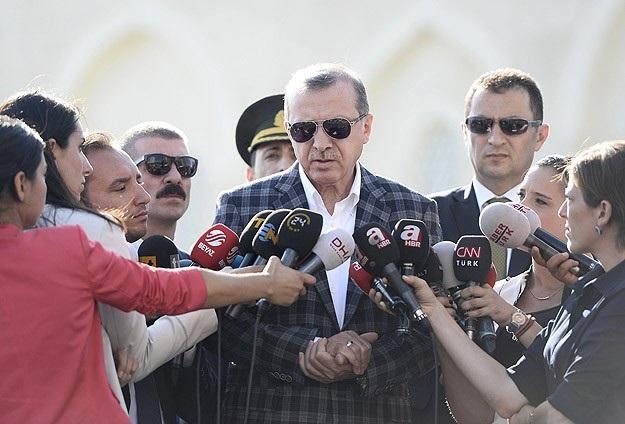 Erdoğan'dan IŞİD yorumu: İlk adım atıldı