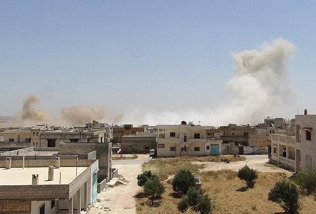 Suriye'de bir kez daha siviller vuruldu