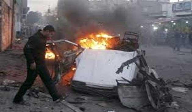 Gazze'de bombalı saldırılar