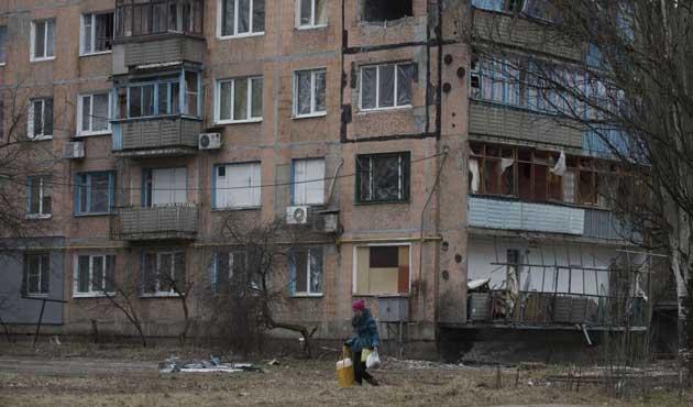 Ukrayna'nın doğusunda hastaneye saldırı
