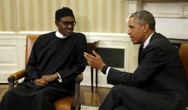 Obama, Nijerya lideri Buhari ile görüştü