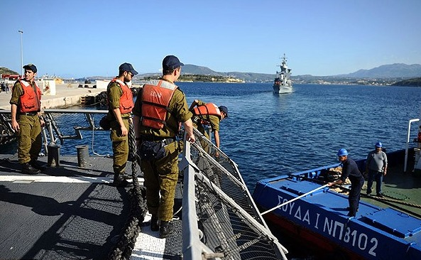 İsrail ve Yunanistan arasında askeri işbirliği