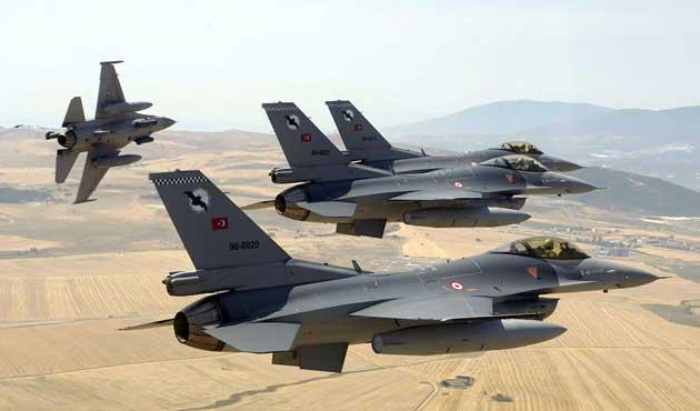TSK'dan Dağlıca ve Kuzey Irak'a hava saldırısı