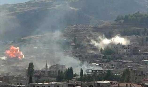 Zebadani'de şiddetli çatışmalar sürüyor