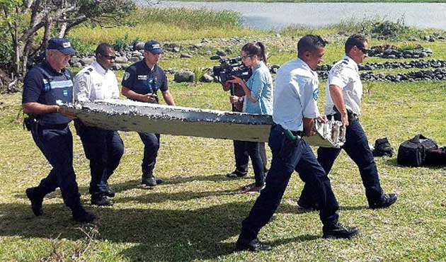 Kayıp uçağa ait olduğu iddia edilen bir parça daha bulundu