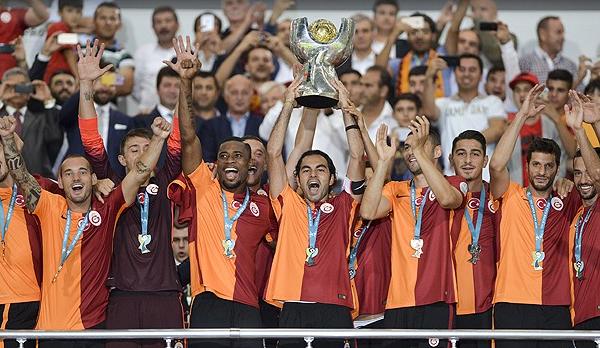 Süper Kupa'yı Galatasaray kazandı