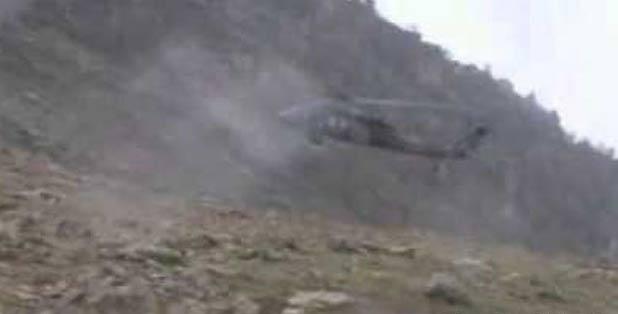 Şırnak'ta askeri helikoptere saldırı: 1 asker yaralı