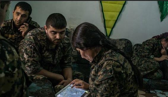 YPG, IŞİD'in yerini ABD'ye 'google'luyor...