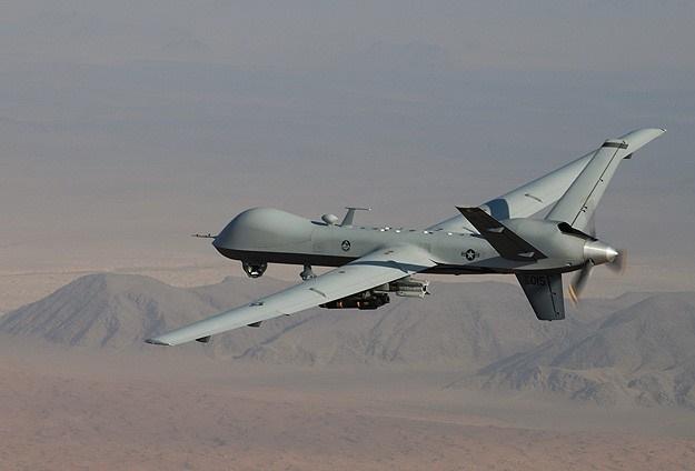 Suriye'de muhaliflerin vurduğu drone hastaneye düştü