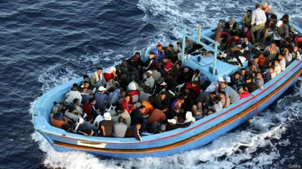 Avrupa'ya gelen göçmen sayısı rekor düzeye çıktı